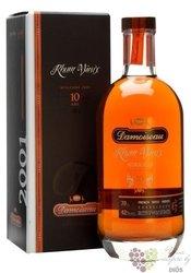 """Damoiseau agricole vieux 2001 """" 10 ans d´Age """" rum of Guadeloupe 42% vol.  0.70l"""