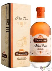 "Damoiseau agricole vieux "" d´Exception "" aged 10 years Guadeloupe rum 42% vol.  0.70 l"