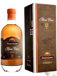 """Damoiseau agricole vieux """" Hors d´Age 12 ans """" aged Guadeloupe rum 42% vol.  0.70 l"""