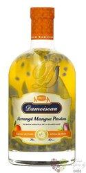 """Damoiseau arrangés """" Mangue Passion """" flavored Guadeloupe rum 30% vol.  0.70 l"""