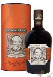 "Diplomatico "" Mantuano "" gift tube aged rum of Venezuela 40% vol.  0.70 l"