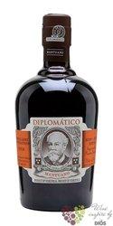 """Diplomatico """" Mantuano """" aged rum of Venezuela 40% vol.  0.70 l"""