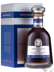 Diplomatico 2001 single vintage rum of Venezuela 43% vol.   0.70 l