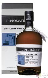 "Diplomatico distillery edition "" Batch no.1 Kettle rum "" aged rum of Venezuela 47% vol.  0.70 l"