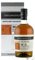 "Diplomatico distillery edition "" Batch no.2 Barbet Column "" aged rum of Venezuela 47% vol.  0.70 l"