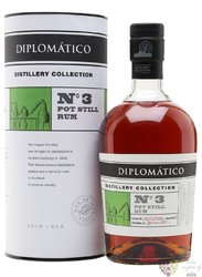 "Diplomatico distillery edition "" Batch no.3 Pot Still "" aged rum of Venezuela 47% vol.  0.70 l"