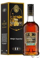 "Santiago de Cuba "" Aňejo superior 11 aňos "" Cuban rum aged 11 years 40% vol.  0.70 l"