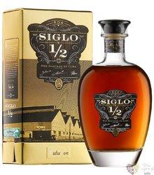 """Santiago de Cuba """" Siglo y 1/2 """" ltd. edition Cuban rum 40% vol.   0.70 l"""