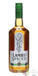 "Lamb´s "" Spiced "" flavored Caribbean rum 37.5% vol.   0.70 l"