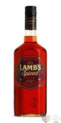 "Lamb´s "" Spiced cherry "" flavored Caribbean rum 30% vol.  0.70 l"