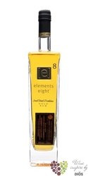 "Elements 8 "" Gold "" small batch rum of St.Lucia 40% vol.  0.70 l"