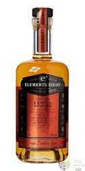"Elements 8 "" Exotic spices "" small batch rum of St.Lucia 40% vol.  0.70 l"