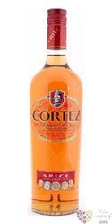 "Cortez "" Spiced "" flavored rum of Panama 40% vol.  0.70 l"
