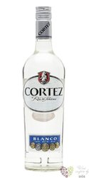 "Cortez "" Blanco "" white rum of Panama 40% vol. 0.05 l"