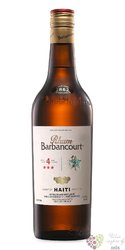 "Barbancourt "" 3 Stars "" aged 4 years aged rum of Haiti 43% vol.    0.70 l"