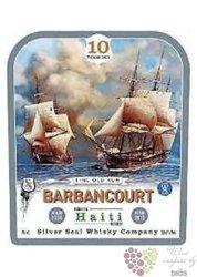"Barbancourt 2004 "" Silver Seal "" aged 10 years rum of Haiti 50% vol.    0.70 l"