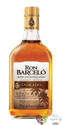 "Barcelo "" Dorado "" aged rum of Dominican republic 37.5% vol.  0.70 l"