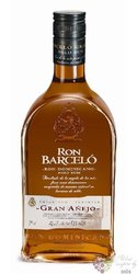 "Barcelo "" Grand Ańejo "" aged rum of Dominican Republic 37.5% vol.   0.70 l"