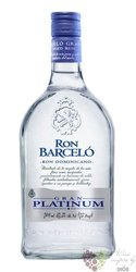 "Barcelo "" Gran Platinum blanco "" white rum of Dominican Republic 37.5% vol.0.70l"