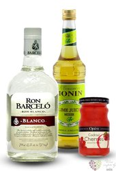 "Barcelo "" Chupito pack "" rum of Dominican Republic 37.5% vol.    2.10 l"