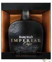 "Barcelo "" Imperial Onyx "" aged rum of Dominican republic 38% vol.   0.70 l"
