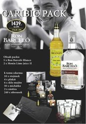 "Barcelo "" Caribic pack "" rum of Dominican Republic 37.5% vol    3.50 l"