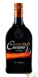 "Barcelo "" Cream "" rum & cream of Dominican republic 17% vol.     0.70 l"