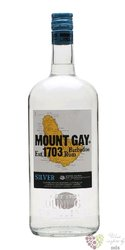 "Mount Gay "" Eclipse silver "" white rum of Barbados 40% vol.  1.00 l"