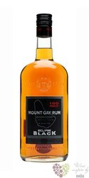 "Mount Gay "" Eclipse Black "" aged rum of Barbados 50% vol.   0.70 l"