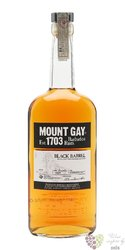 "Mount Gay "" Black barrel "" aged rum of Barbados 43% vol.   0.70 l"