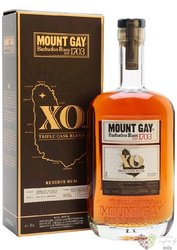 "Mount Gay "" XO reserve "" aged rum of Barbados 43% vol.   0.70 l"