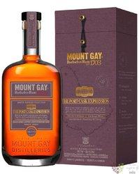 """Mount Gay Master Blender Collection """" Port cask Expression """" Barbados rum 55% vol.  0.70 l"""