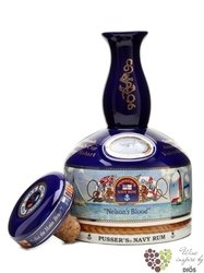 "Pusser´s British navy "" Yachting Ship´s decanter "" rum of Virginia Islands 40% vol.    1.00 l"