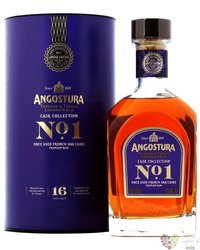 "Angostura "" Cask collection no.1 batch 2 "" aged 16 years rum of Trinidad & Tobago 40% vol.  0.70"