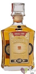 Coruba aged 18 years premium Jamaican rum 38% vol.  0.70 l