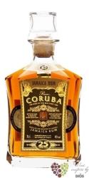 Coruba aged 25 years premium Jamaican rum 40% vol.   0.70 l