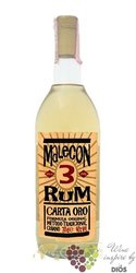 "Malecon "" Carta Oro "" aged 3 years white Panamas rum 37.5% vol.    1.00 l"