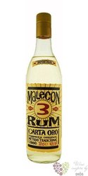 "Malecon "" Carta Oro "" aged 3 years white Panamas rum 37.5% vol.    0.70 l"