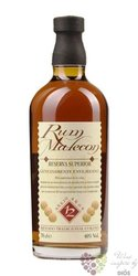 "Malecon "" Reserva Superior "" aged 12 years Panamas rum 40% vol.  0.20 l"