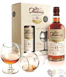"Malecon 2006 "" Rare proof "" glass set aged 13 years Panamas rum 50.5% vol.  0.70 l"