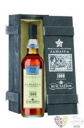 Rum Nation 1986 aged 26 years rum of Jamaica 45% vol.   0.70 l