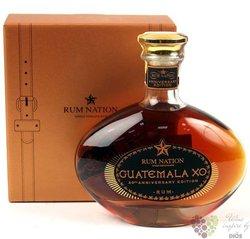 "Rum Nation "" XO 20th anniversary Guatemala "" single domaine Caribbean rum 40% vol.  0.70 l"