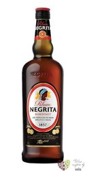 "Negrita "" Dark "" glass set caribbean rum by Bardinet 37.5% vol.  1.00 l"