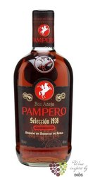 "Pampero "" Aňejo selecction 1938 "" aged rum of Venezuela 40% vol.     0.70 l"