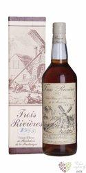 Trois Rivieres agricole vieux 1953 vintage rum of Martinique 45% vol.   0.70 l