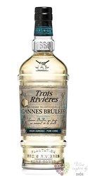 """Trois Rivieres agricole """" Cannes Brulées """" unique Martinique rum 43% vol.  0.70 l"""