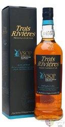 "Trois Rivieres agricole "" VSOP "" aged rum of Martinique 42% vol.  0.70 l"