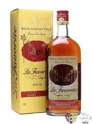"""La Favorite agricole vieux """" Coeur de Rhum """" aged rum of Martinique 40% vol.   0.70 l"""