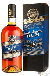 Secret Treasures 1992 bott. 2002 by Pampero single cask rum of Venezuela 42% vol.    0.70 l