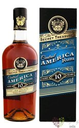 "Secret Treasures "" Central America "" aged 10 years rum 42% vol.  0.70 l"